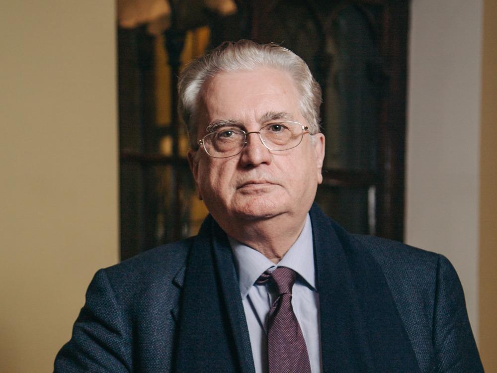 Il Direttore Generale Mikhail Piotrovsky del Museo Ermitage.
