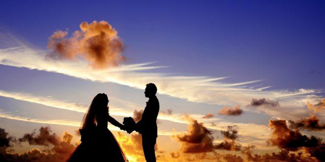 matrimonio al tramonto