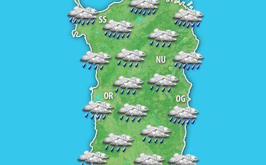 Maltempo sulla Sardegna