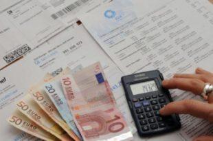 bollette e calcoli soldi
