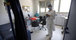 Operatori sanitari a lavoro