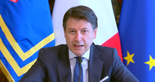 Il presidente del Consiglio Giuseppe Conte
