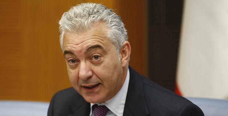 Il Commissario Domenico Arcuri