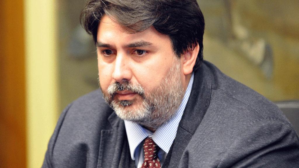 Il governatore della Regione Sardegna Christian Solinas