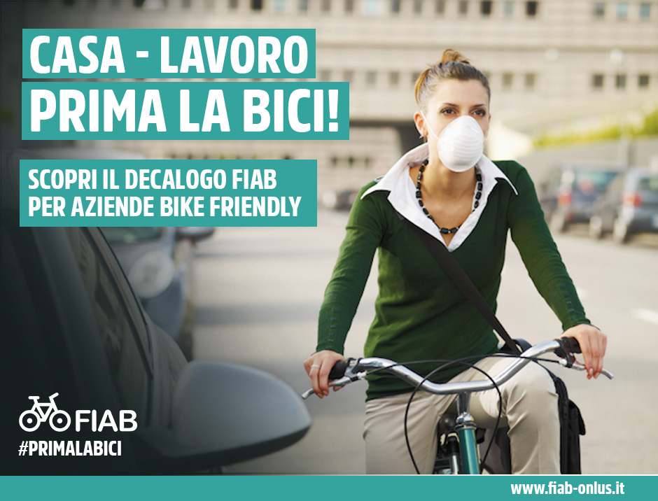 bike to work locandina