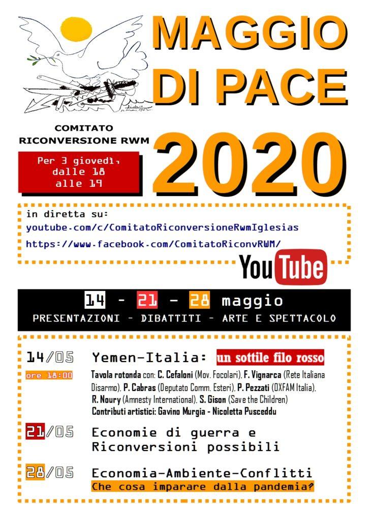 MAGGIO DI PACE 2020 def MAGGIO DI PACE 2020 - EVENTO PUBBLICO