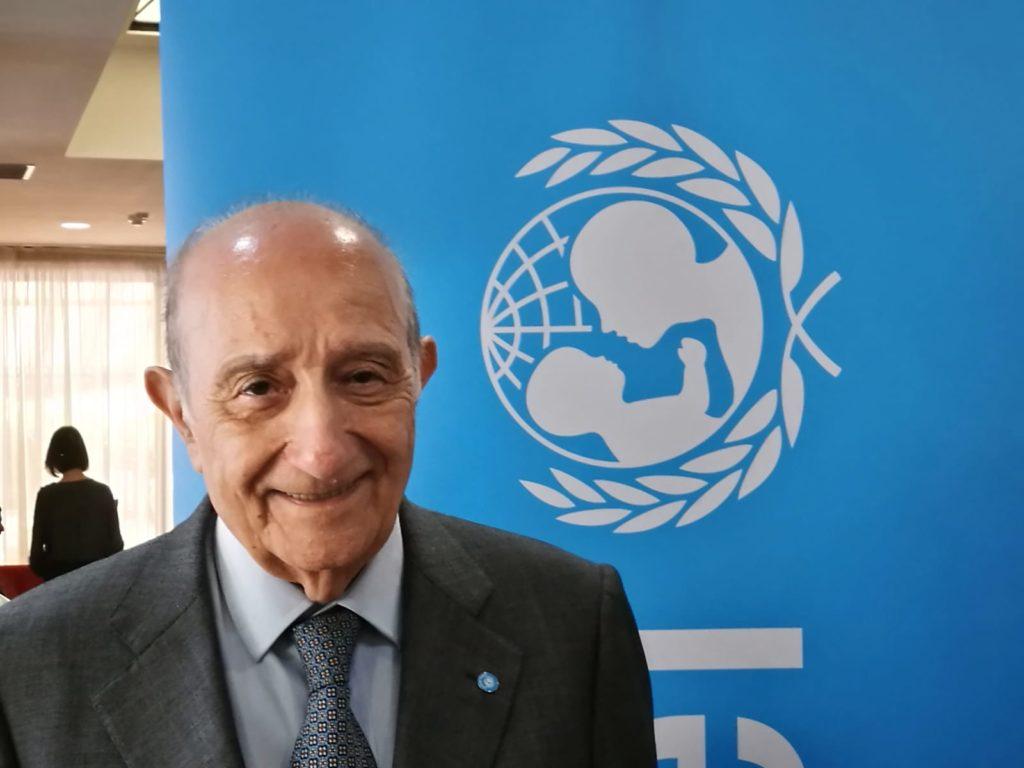 Presidente di UNICEF Italia Francesco Samengo
