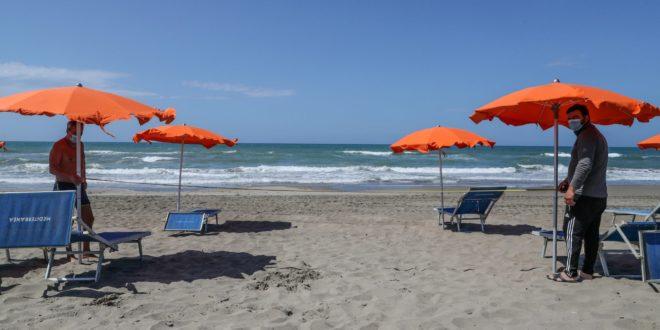 spiaggia coronavirus