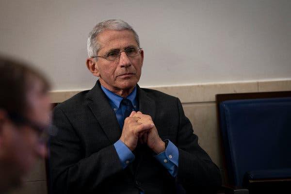 Anthony Fauci, consigliere scientifico della Casa Bianca per l'emergenza Coronavirus