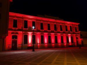 """Comune Rosso2 Giornata Mondiale del Donatore, San Gavino """"tinto"""" di rosso"""