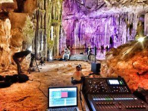 """Favata Peghin Grotte 2 Enzo Favata e Marcello Peghin: """"Musica sulle Bocche"""""""