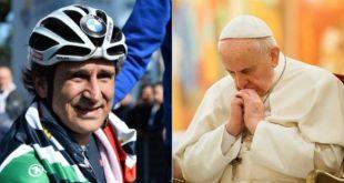 Lettera del Papa a Zanardi