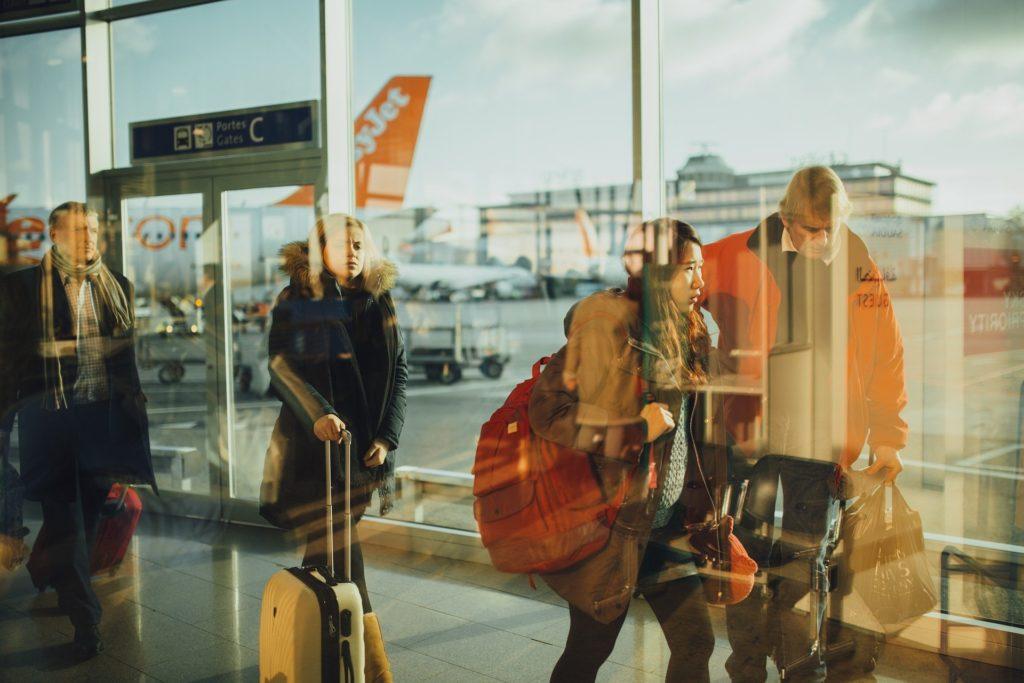 arrivi in aereoporto