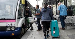 bus e passeggeri