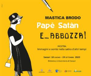 """post 2 Sassari, """"Masticabrodo, Papè Satan e… abbozza!"""": dal 18 giugno la mostra in Biblioteca Universitaria"""
