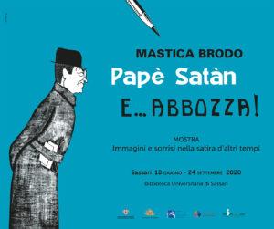 """post 4 Sassari, """"Masticabrodo, Papè Satan e… abbozza!"""": dal 18 giugno la mostra in Biblioteca Universitaria"""