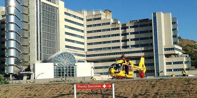 ospedale Brotzu Cagliari eliporto