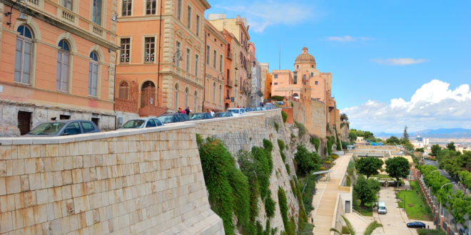 Castello Cagliari Passeggiata