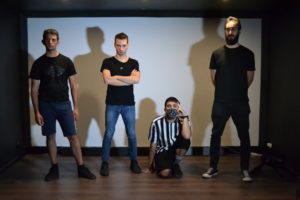 BlackBoard in finale a Sanremo Rock CS - La band BlackBoard alle finali di Sanremo Rock