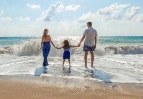 famiglia, mare