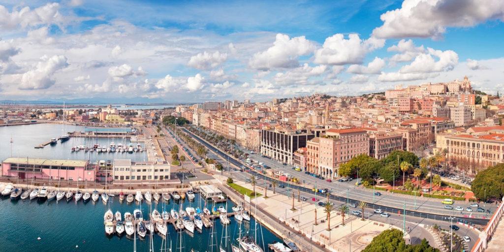Panorama via Roma Cagliari Ruota panoramica a Cagliari, l'inaugurazione avverrà il 1 agosto
