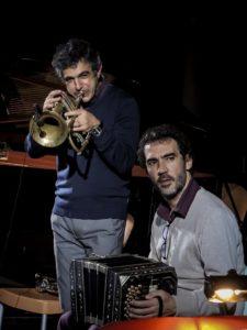 Paolo Fresu Daniele Di Bonaventura @Roberto Cifarelli m Paolo Fresu e Daniele di Bonaventura lunedì sera a JazzAlguer