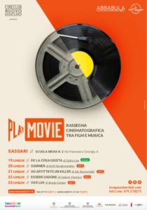 Playmovie 2020 locandina Play movie 2020: rassegna cinematografica tra film e musica