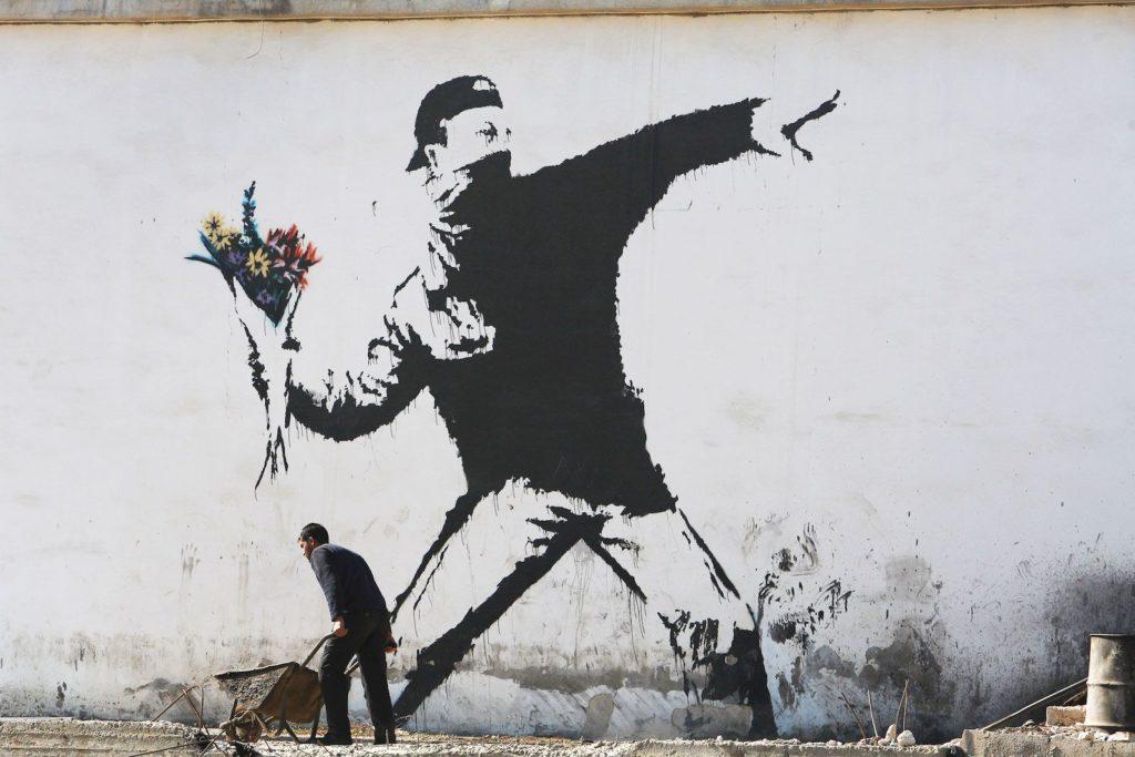 banksy La mostra UNKNOWN con Banksy e la street art