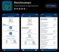 """cop Lavoro: presentata ufficialmente l'App """"Resto in campo"""""""
