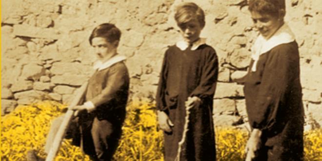 campo di grano bambini