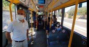 """Nei bus dell'Atp di Sassari avviso di fermata """"parlante"""""""