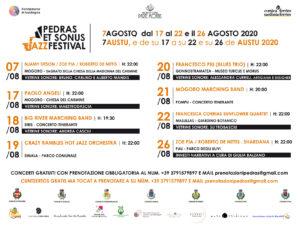 Calendario Pedras et Sonus 2020 5 Festival Pedras et Sonus; C'è Simala nel cammino