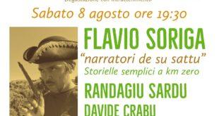 Contadinando prosegue a Sanluri con Flavio Soriga e Randagiu Sardu | sabato 8 agosto, agriturismo Stai Valbella - Sanluri, 19,30