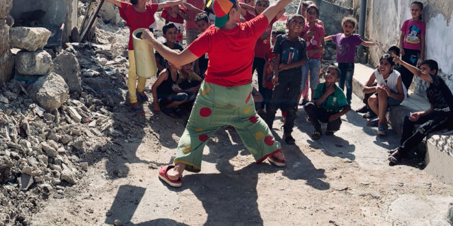 Claun Il Pimpa in Sardegna, Il 3 settembre a Sinnai