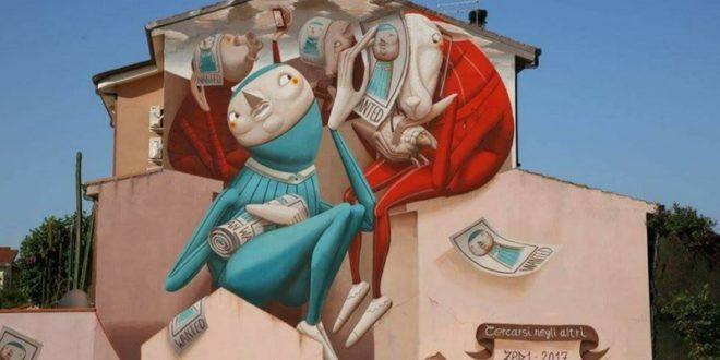 """""""Muri di Sardegna, luoghi e opere della Street art"""""""