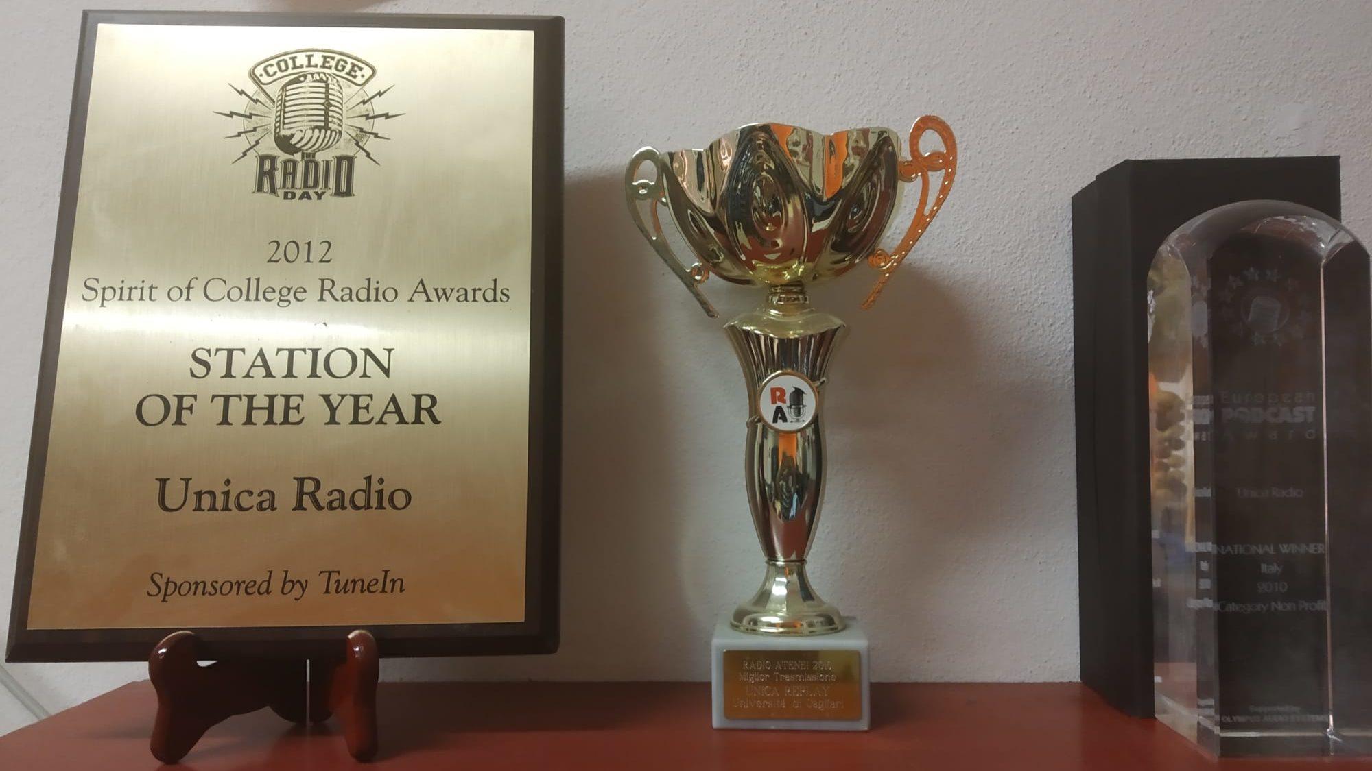 """6a0017d3 b03d 4bad a83d 102274c46579 edited Unica Radio premio """"Miglior Radio Studentesca italiana del 2020"""""""