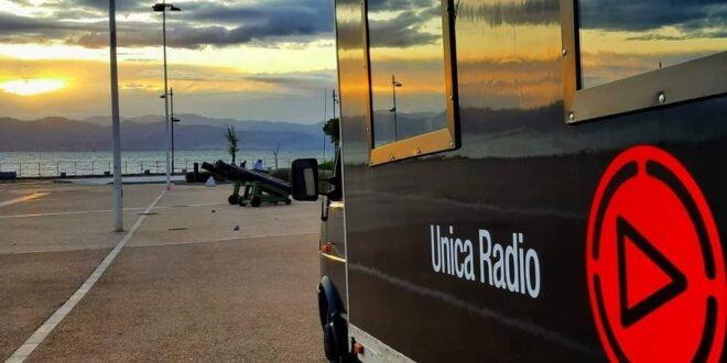 Unica Radio studio mobile