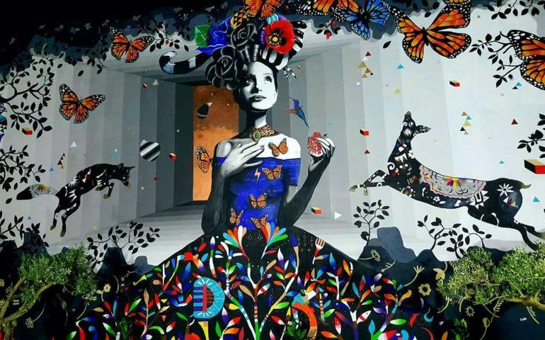 "murale kore giorgio casu 770x480 1 ""Muri di Sardegna"" la guida street art fa tappa a Guspini"