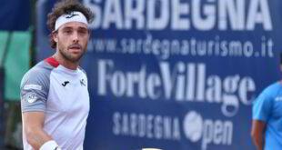 Tennis, Forte Village Sardegna Open: concluso ieri con la sconfitta di Cecchinato