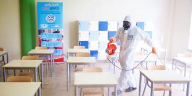 Sanificazione: 'La protezione tiene banco', in 100 scuole italiane