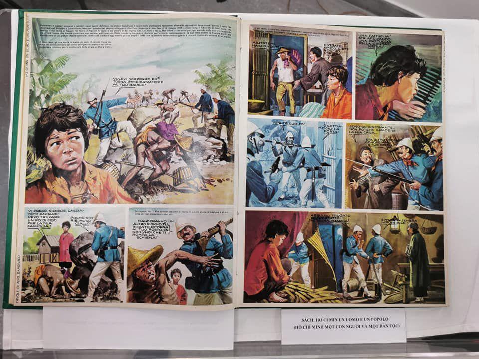 Hanoi, donato al Vietnam fumetto italiano su Ho Chi Minh