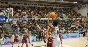 Basket: Dinamo, debutto europeo coi turchi del Galatasaray