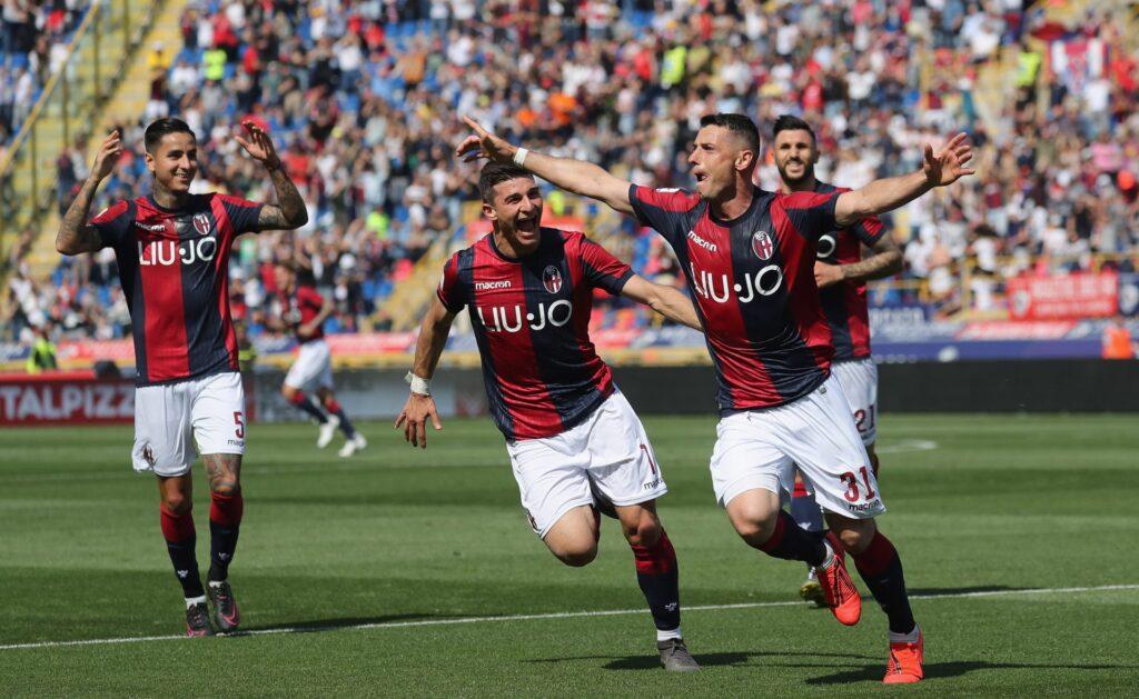 Bologna coppe squadra calcio