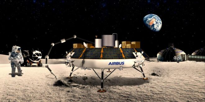 Spazio: ROXY di Airbus trasforma la polvere lunare in ossigeno