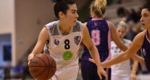 Eugenia Caldaro, giocatrice del CUS Cagliari Basket Femminile