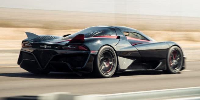 L'auto più veloce del mondo, alimentata a bioetanolo.