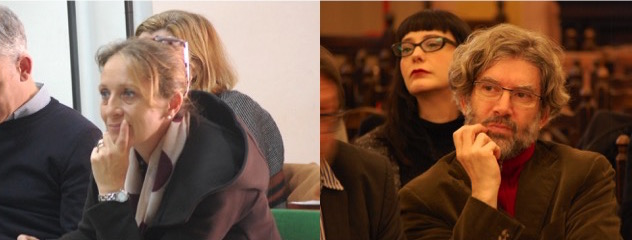 Barbara Barbieri e Antioco Floris- rappresentanti dei docenti