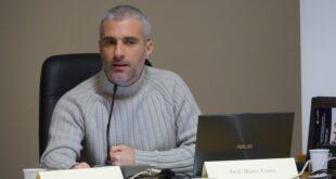 Sa Domu ' e Farra, Marco Lutzu Professore di Cagliari