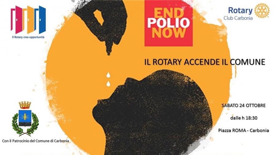 EndPolioNow: Manifesto del Rotary Club Carbonia