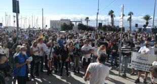 Manifestazione a Cagliari del mondo dello sport